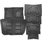 2012 Vest Armour Plates [DIY - Budget] SET
