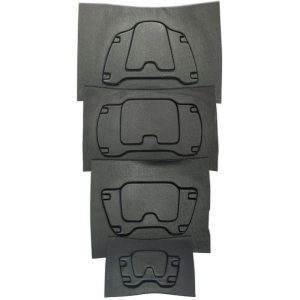 2012 Vest Armour Plates [DIY - Budget] Back SET