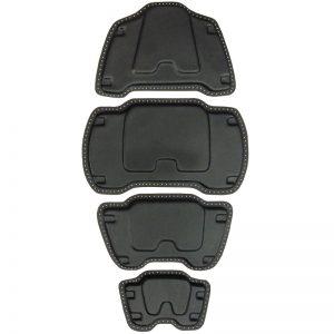 2012 Vest Armour Plates [DIY - Trimmed] Back SET