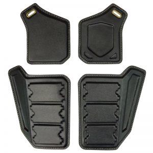 2012 Vest Armour Plates [DIY - Trimmed] Front SET