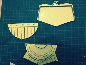 2012 Belt Buckle Cover [DIY drawings] making of … Stages