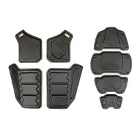 2012 Vest Armour Plates [DIY - Trimmed] SET