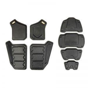 2012 Vest Armour Plates [DIY - Trimmed] SET