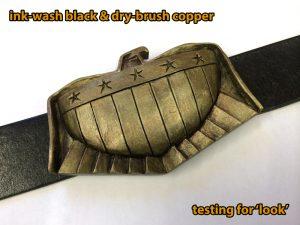 2012 Dredd Belt Buckle