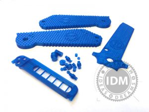 Judge Dredd Boker Knife 3D Printed