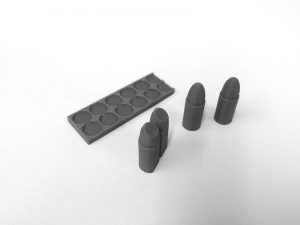 2012 Lawgiver Mk2 vIDM Special Ammo Clip Bullets USED [service]