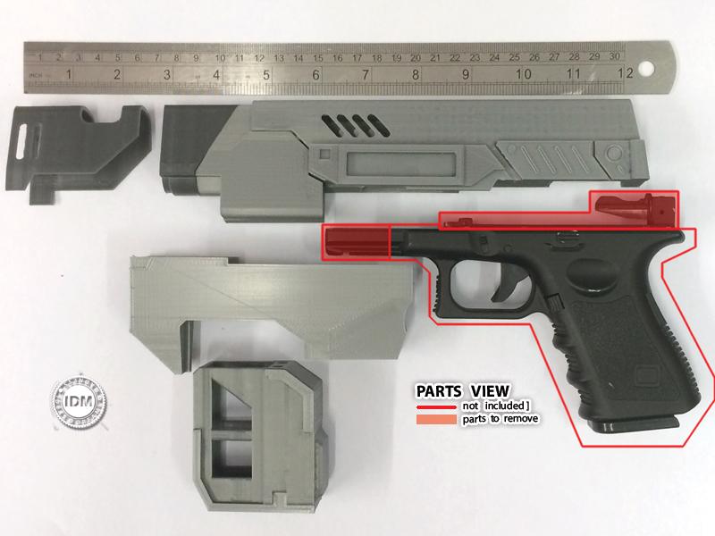 2012 Dredd LawGiver MkII Gun vIDM