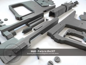 HALO M6B Pistol Gun vIDM