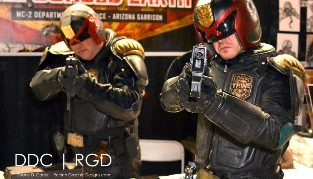 IDM Imagineering w Arizona Judges : COSplay of Judge Dredd