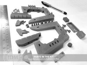Space 1999 STUN GUN vIDM 3D Print Service