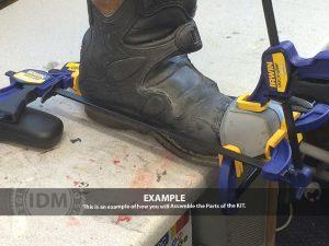 Judge Boot Armour TOE CAP