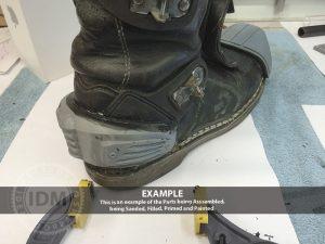 Judge Boot Armour HEEL