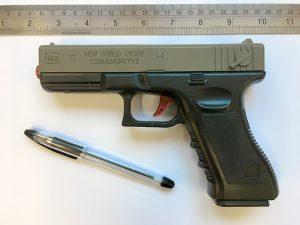 Dredd 2012 GUN Mk2 vIDM Toy Pellet Gun