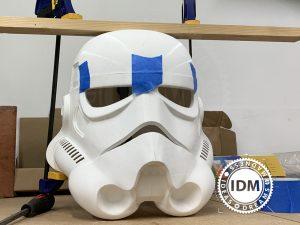 Star Wars inspired helmet and full suit